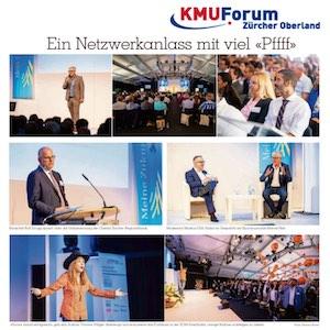 Yvonne Villiger beim 10. KMU-Forum Zürcher Oberland